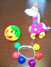 Ball Rattles, Wrist Rattles, Wind-Up Toys photo