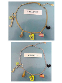 Juicy Couture Necklace Recall