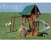 Odyssey Adventure Playset Swing Set Recall