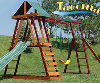 Tacoma Adventure Playset Swing Set Recall