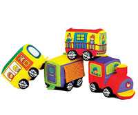 Small World Toys IQ Baby Travelin' Train Blocks Recall