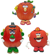 Mr. and Mrs. Potato Head Pumpkin Decorating Kit Recall