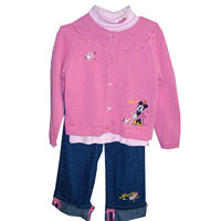 Minnie Mouse Cardigan Set Recall