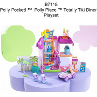 Polly Pocket Totally Tiki Diner Recall