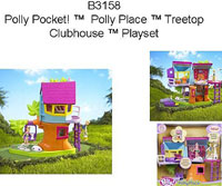 Polly Pocket Treetop Clubhouse Recall