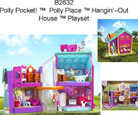 Polly Pocket Hangin' Out House Recall