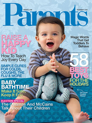 Parents Magazine November 2008