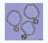 Beaded Photo Charm Bracelet recall