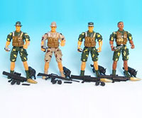 Army Figures Recall