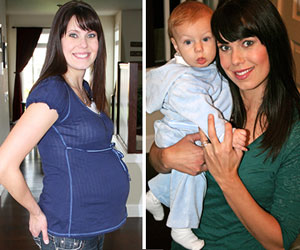Annie Before & After Losing the Baby Weight