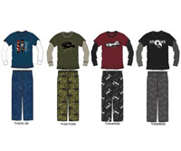 Tony Hawk Boy?s Pajama Sets