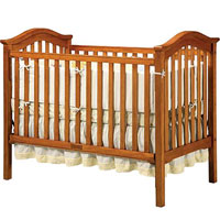 Jardine Antique Walnut Capri Single Crib Recall