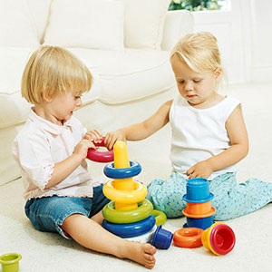 children playing together