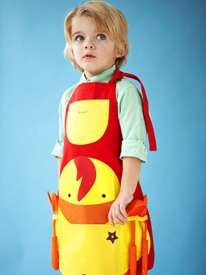 boy in apron