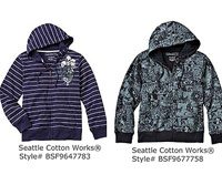 Seattle Cotton Works Hooded Sweatshirts