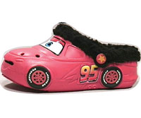 CARS Fleece Clog Children?s Shoes