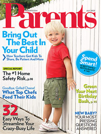 Parents July 2009 cover
