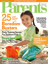 Parents August 2009 cover