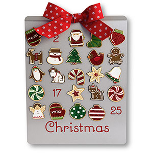 Countdown to Christmas Magnet Set