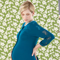 How to Deal with Back Pain During Pregnancy