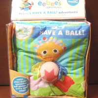 eebee?s ?Have a Ball? Adventures Cloth Books
