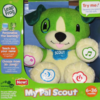 LeapFrog My Pal Scout Electronic Plush Toy Dogs