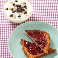 Toast and Yogurt