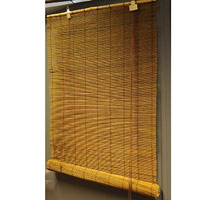 Matchstick Roll-Up Blinds