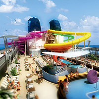 Norwegian Epic?s tube slide