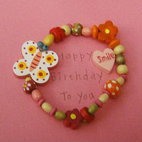 Children's Greeting Cards with bracelets