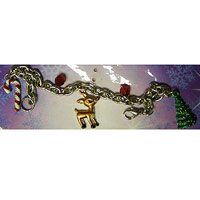 Children?s Winter and Holiday-Themed Charm Bracelets