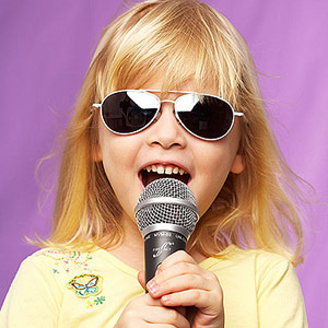 Girl Singing