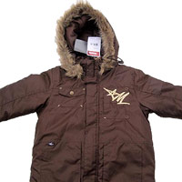 Children?s Hooded Jackets with Drawstrings