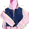 Girls' Hooded Jackets photo