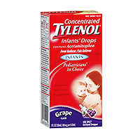 Tylenol concentrated infants drops