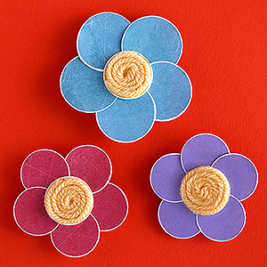 Flower Magnets