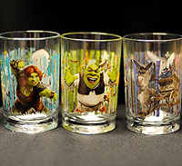 McDonald?s movie-themed drinking glasses