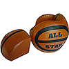 Basketball-Shaped Chair and Ottoman Sets photo