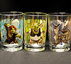 McDonald's movie-themed drinking glasses photo