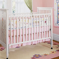 Pottery Barn Kids drop-side cribs