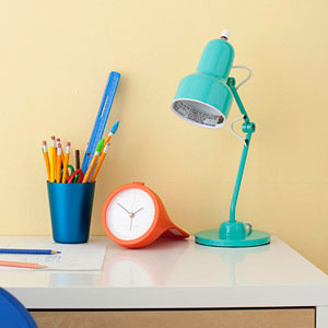 Homework desk lamp