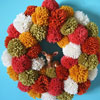 Creative Fall Wreaths: Pumpkins, Pom-Poms & More!