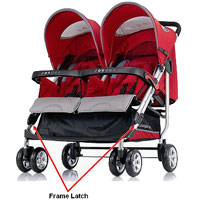 Zooper Tango Double stroller