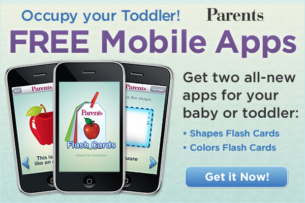 Parents Free Mobile Apps splash page