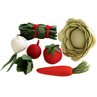 The Land of Nod Toy Vegetables
