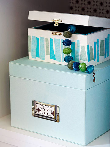 Make a Pretty Storage Box