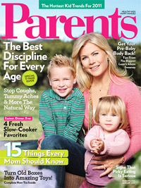 Parents January 2011 cover