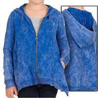 Girls? Hooded Zip Jackets and Vest Sets