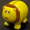 Ceramic Piggy and Lion Banks photo