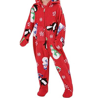 Pajamagram Hoodie Footie Infant and Toddler Footed Pajamas